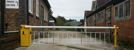 CSG 10300 Car park barriers that integrate into other emergency systems via a control board